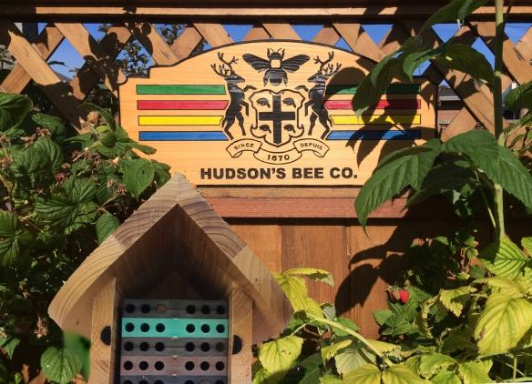 """""""Bee's"""" mason bee house"""